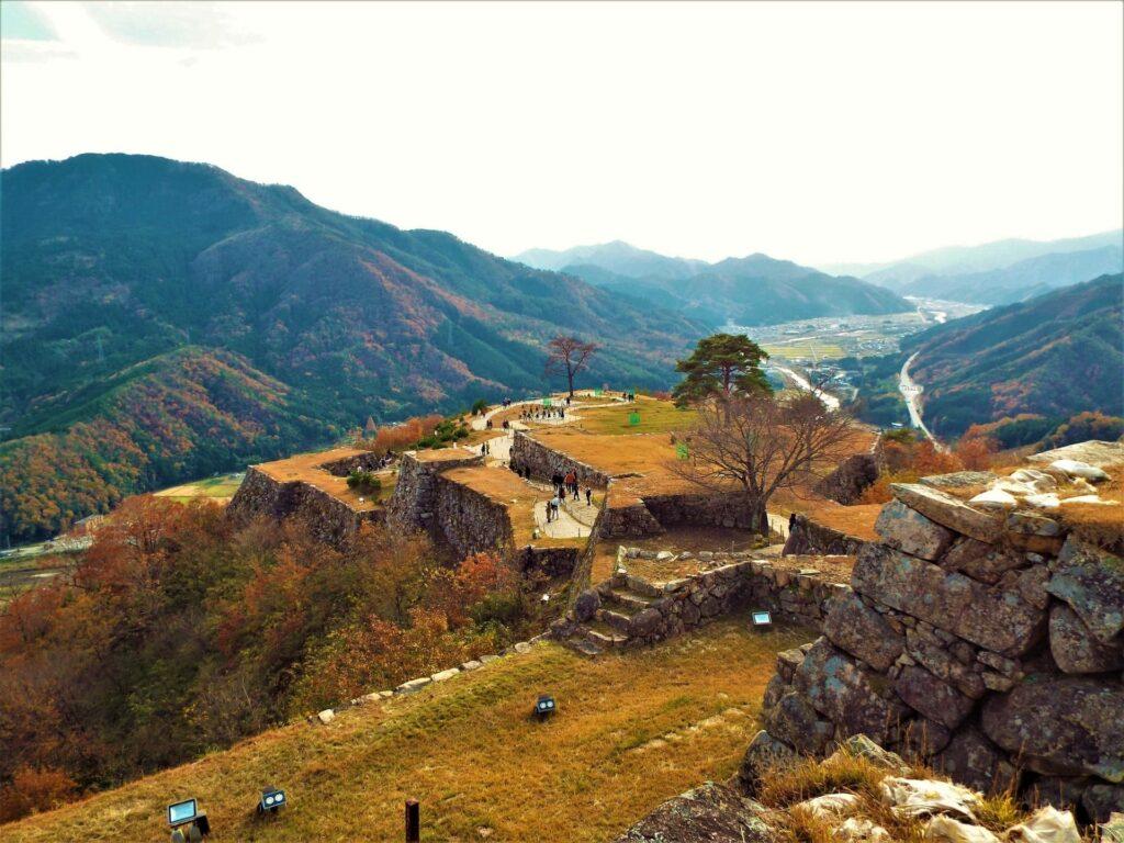 Ruines du château de Takeda