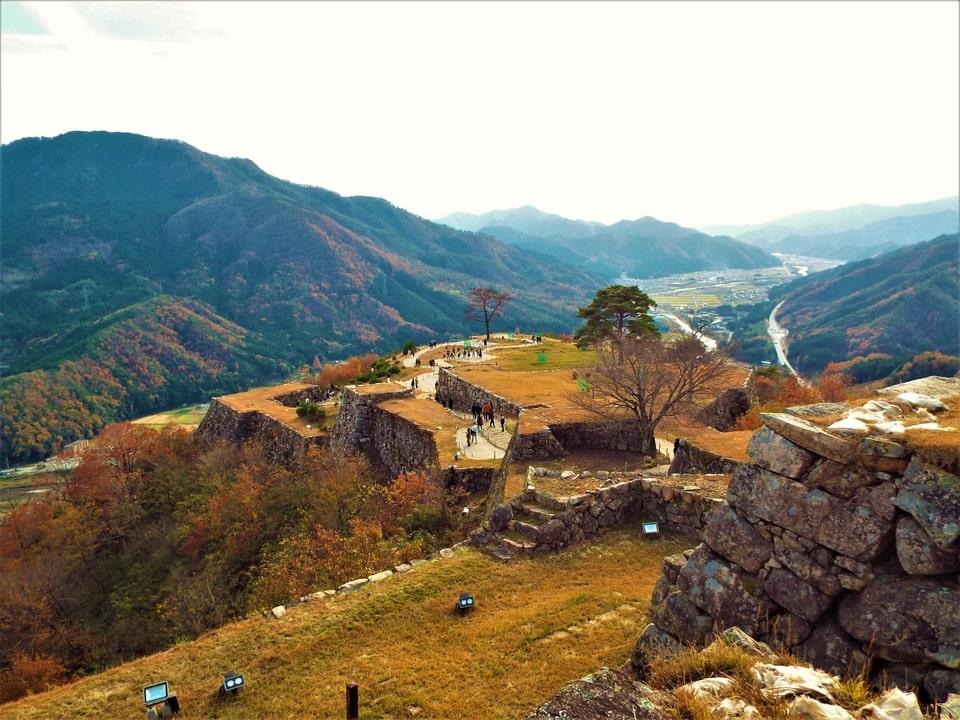 Asago – Ruines du château de Takeda