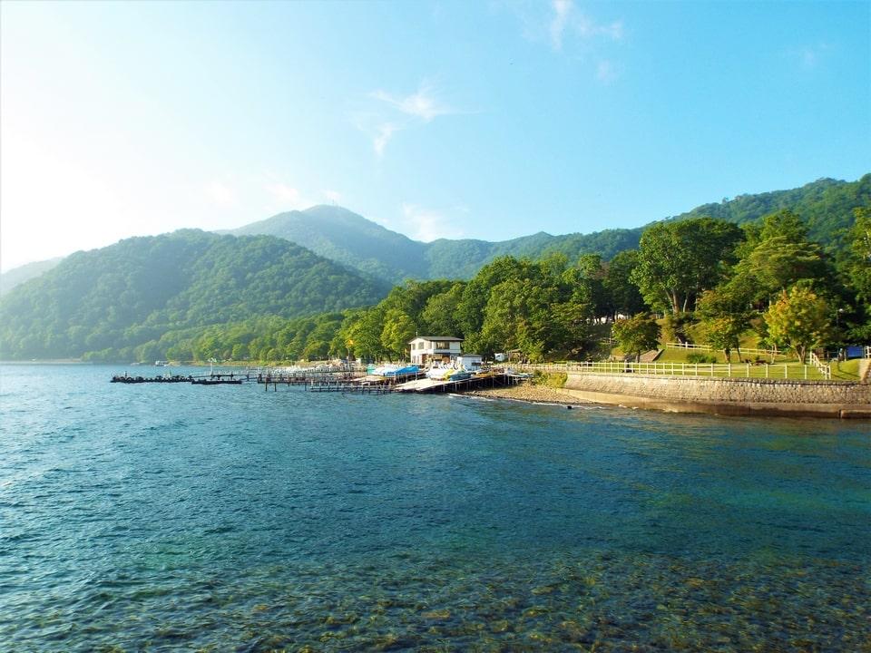 Hokkaido – Chitose : Lac Shikotsu