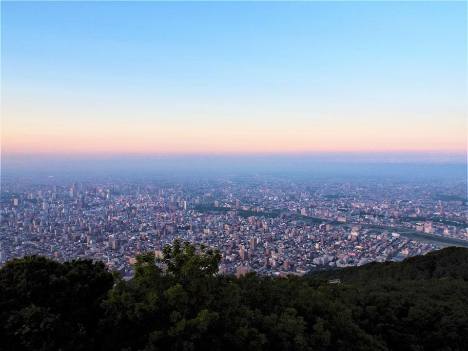 Hokkaido – Sapporo : Mont Moiwa – Vue nocturne sur Sapporo