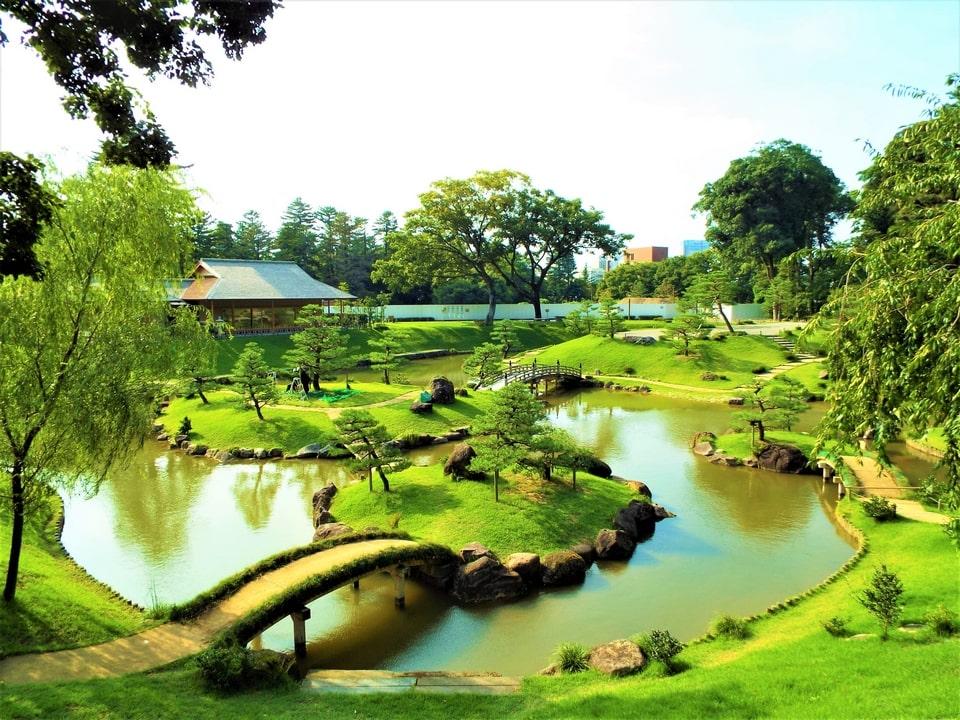 Kanazawa – Le jardin Gyokusen'inmaru