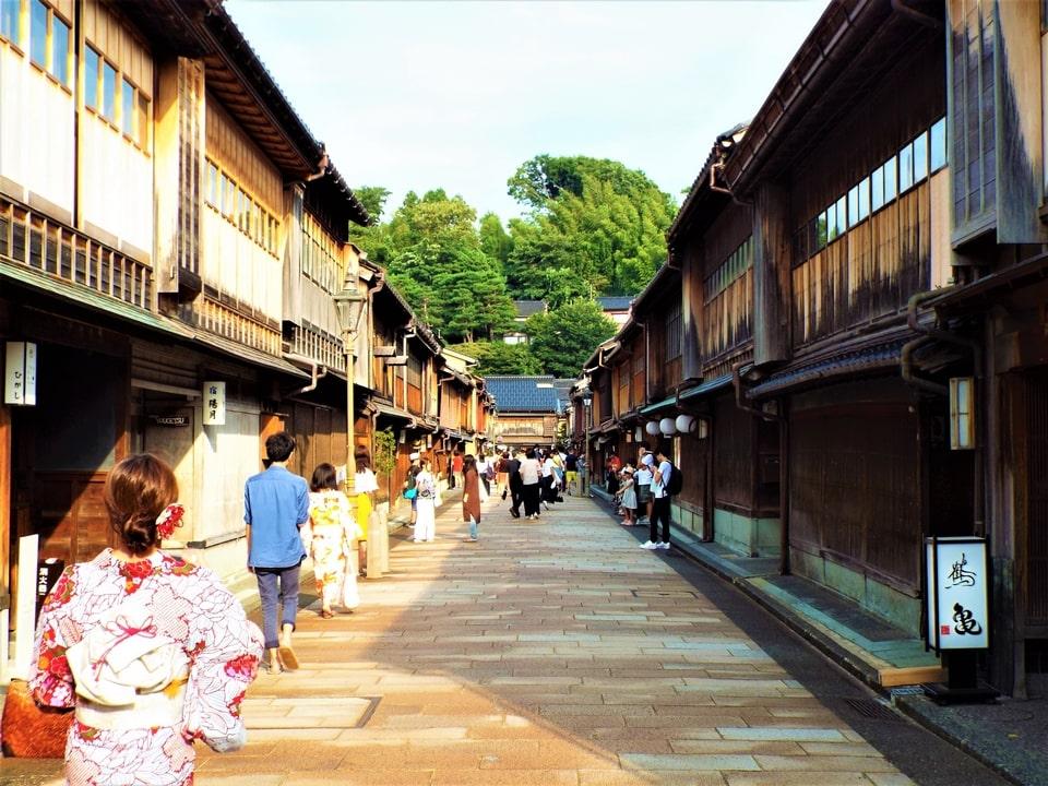 Kanazawa – Higashi Chaya