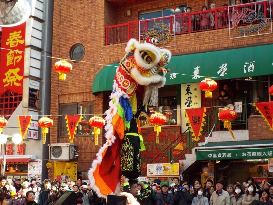 Kobe – Nouvel an chinois à Nankinmachi