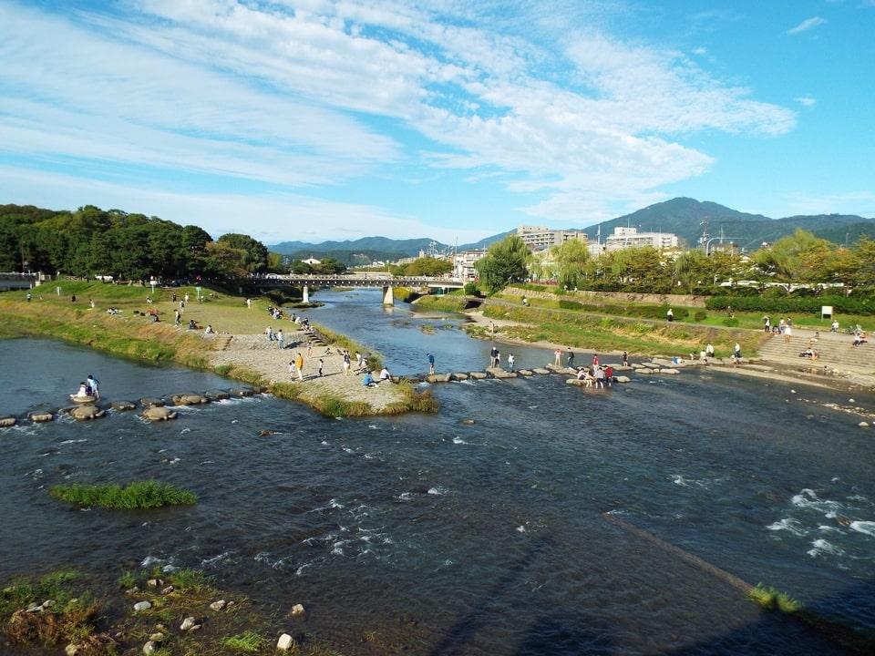 Kyoto – Kamogawa delta