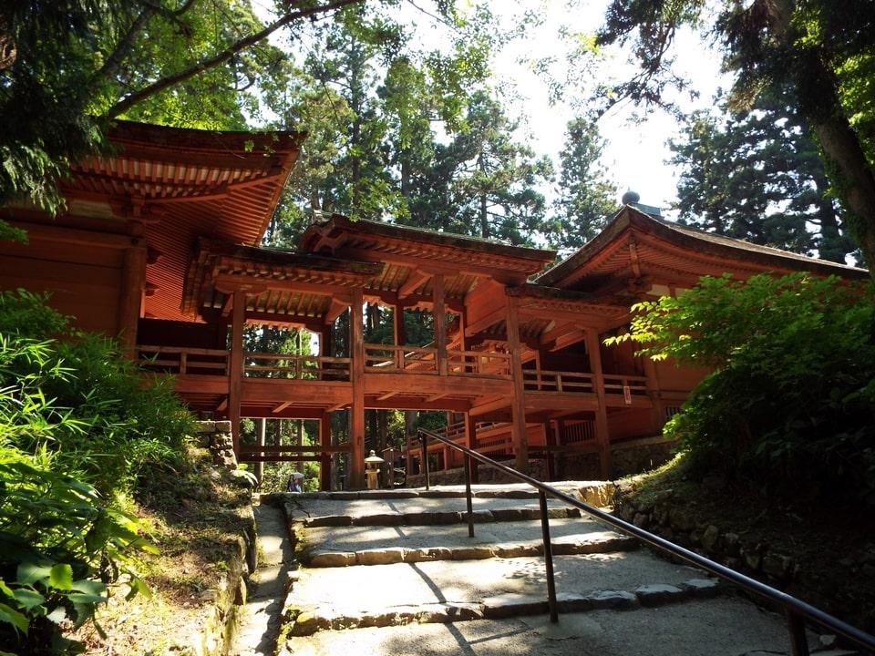 Otsu – Mont Hiei : Shakadō & Ninaidō