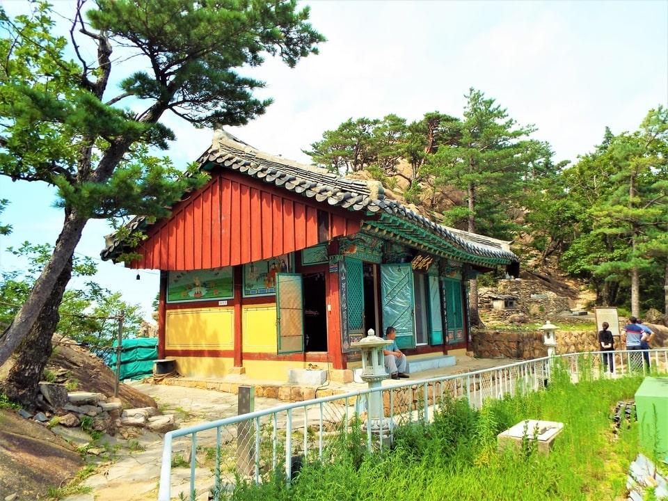 Sokcho – Seoraksan : Le temple Aallack