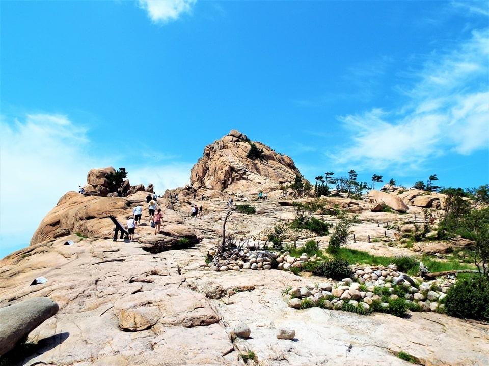 Sokcho – Seoraksan : La forteresse de Gwongeumseong