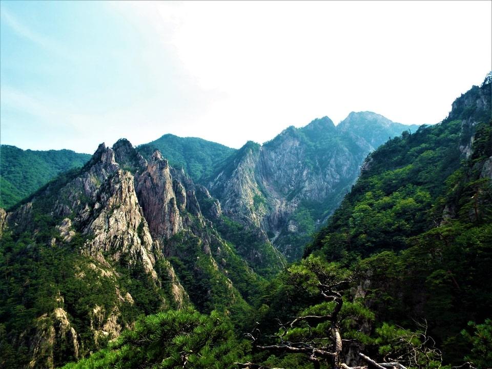 Sokcho – Seoraksan : L'observatoire de la cascade Towangseong