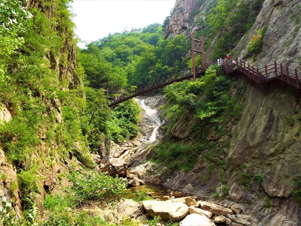 Sokcho – Seoraksan : Les cascades Yukdam & Biryong