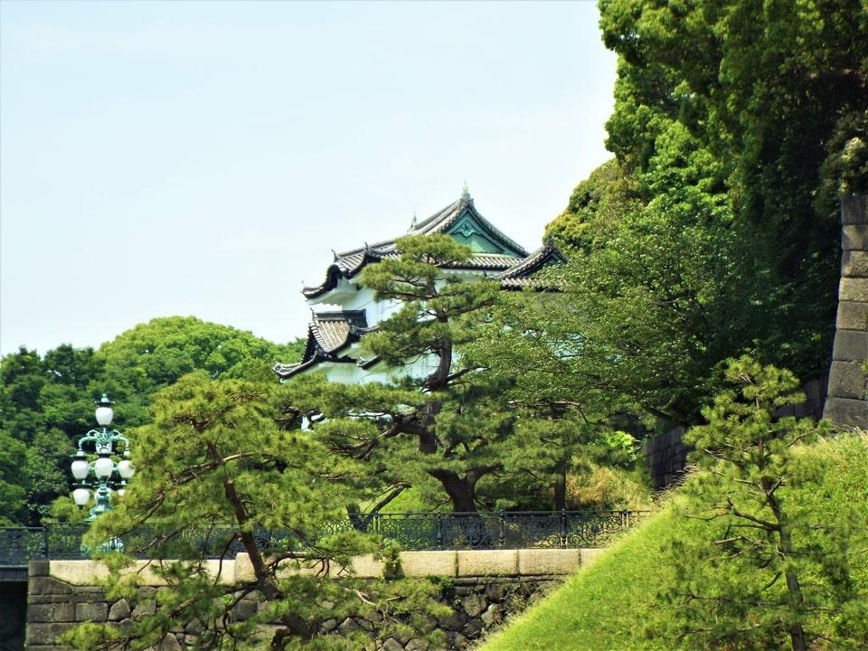 Tokyo – Entrée du Palais Impérial, Parc d'Hibiya & Shibuya Crossing