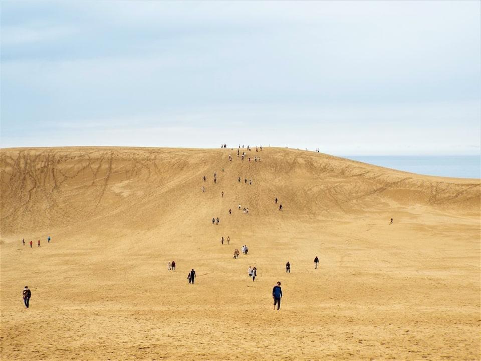 Tottori – Les dunes de Tottori