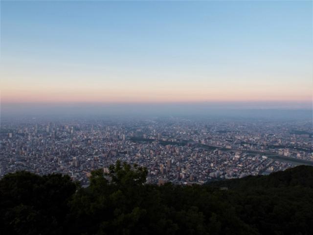 Mont Moiwa - Vue nocturne sur Sapporo