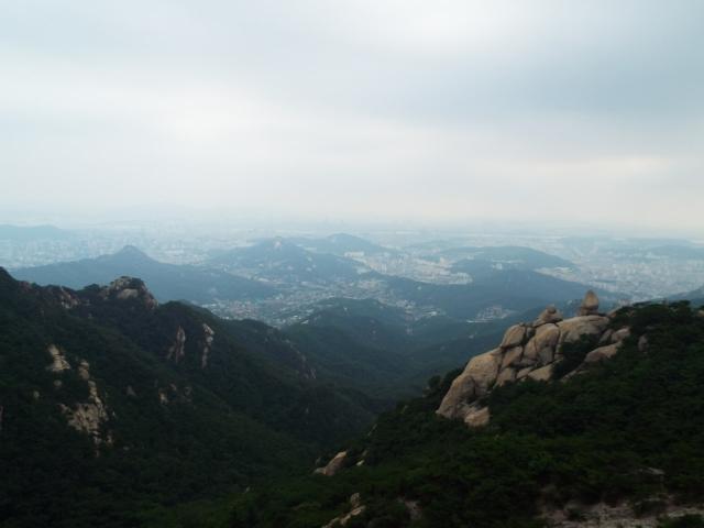 Séoul - Parc national de Bukhansan