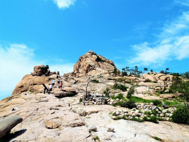 Sokcho - Seoraksan : La forteresse de Gwongeumseong