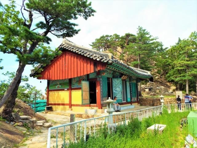 Sokcho - Seoraksan : Le temple Aallack
