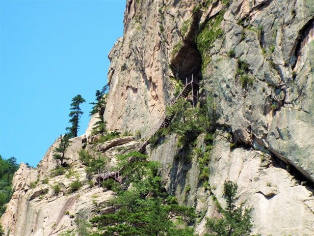 Sokcho - Seoraksan : La grotte de Geumganggul