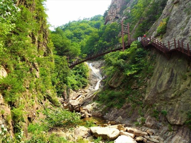 Sokcho - Seoraksan : Les cascades Yukdam & Biryong