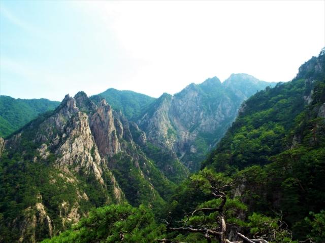 Sokcho - Seoraksan : L'observatoire de la cascade Towangseong