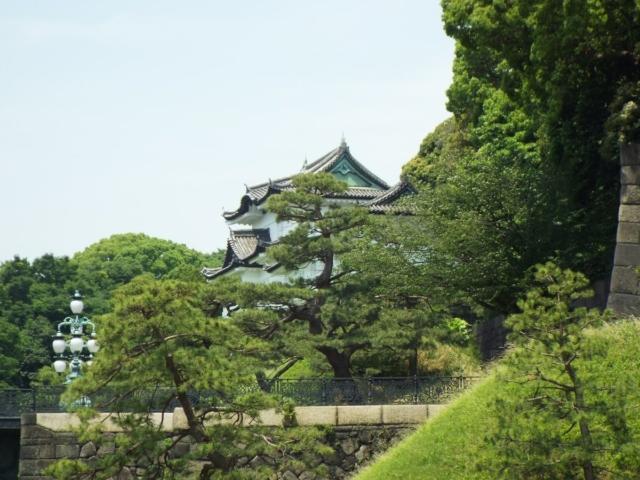 Tokyo : Entrée du Palais Impérial, Parc d'Hibiya & Shibuya Crossing